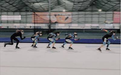 Proud sponsor of ocre-vandersteen ice-skating team